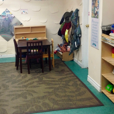 A view of our downstairs toddler room.
