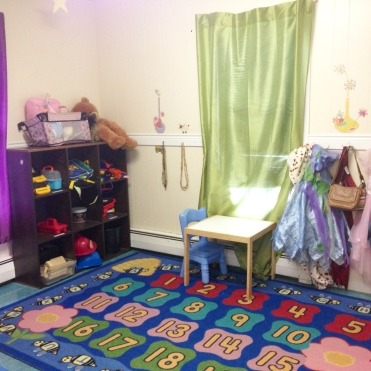 Another view of our preschool area.