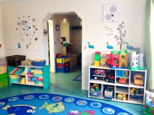 Our preschool area.